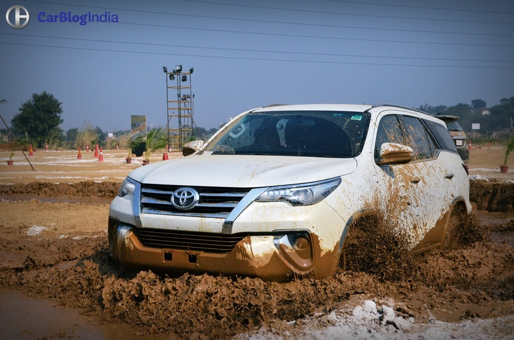 Toyota Fortuner Off Road Review with Images and Details