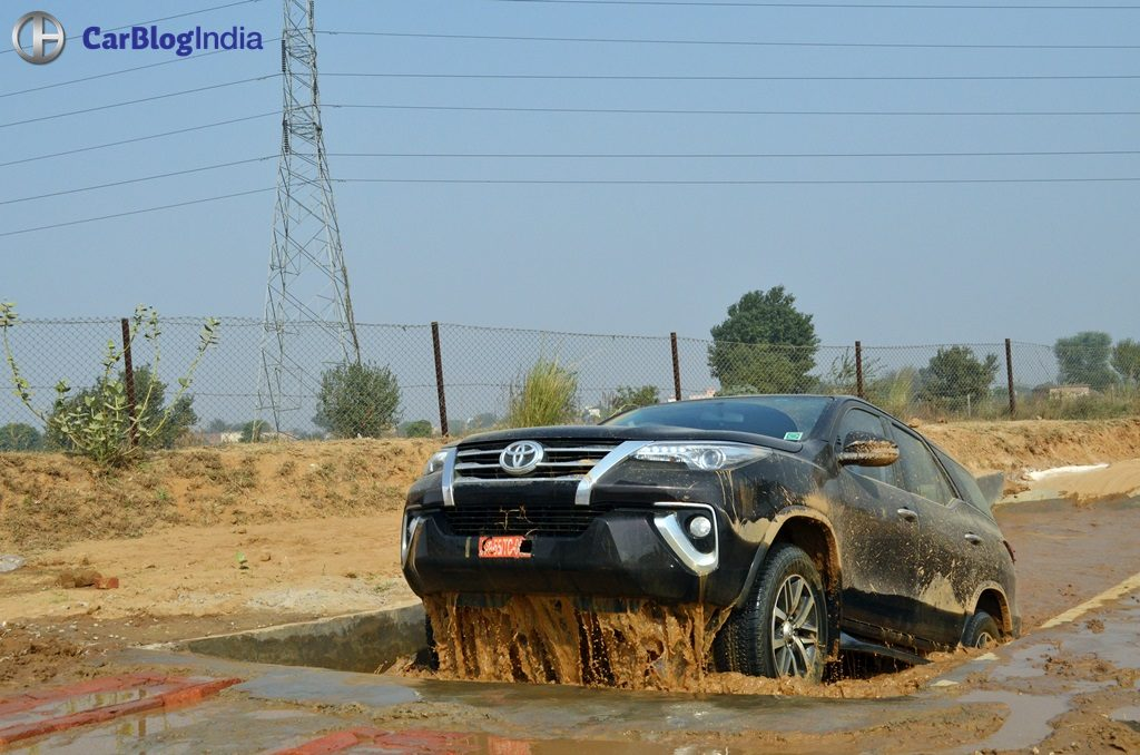 New Toyota Fortuner Off Road Experience X