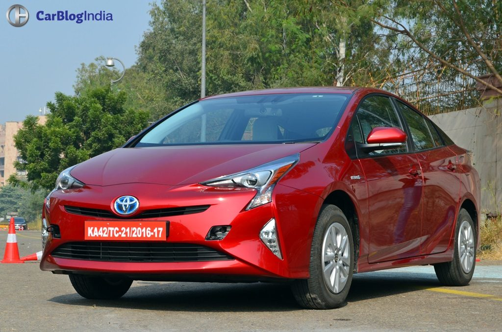 New Toyota Prius Test Drive Review India 10 Carblogindia