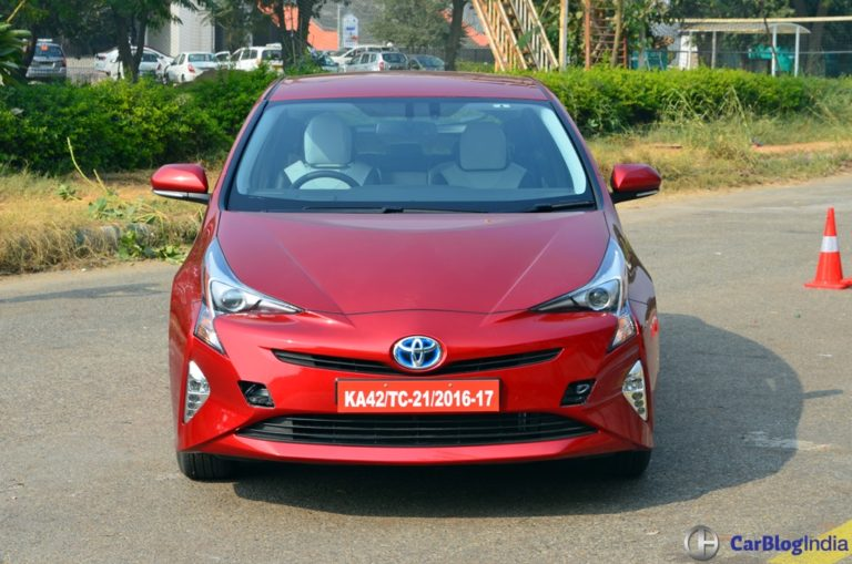 New Toyota Prius Launched in India at Rs. 38.96 lakh