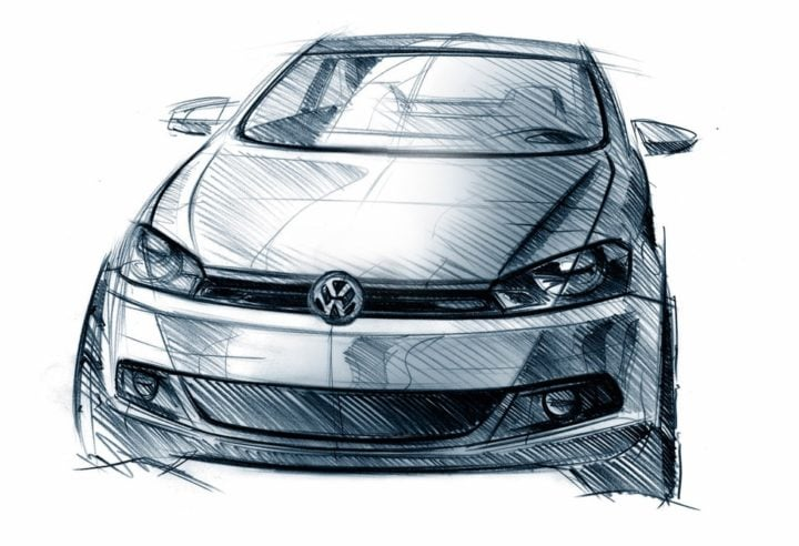 Upcoming New Volkswagen Cars in India next-generation-2018-volkswagen-polo-sketchs