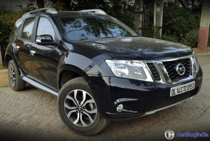 Best Automatic SUV in India - Nissan Terrano AMT