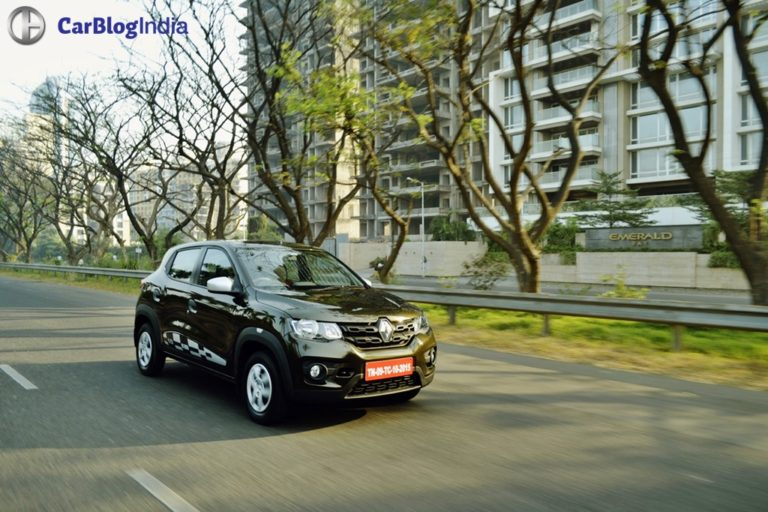 Renault Kwid Easy-R AMT Test Drive Review