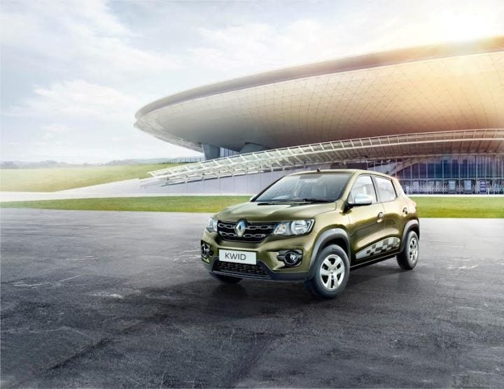 Best Mileage Automatic Cars - Renault Kwid 1.0 AMT