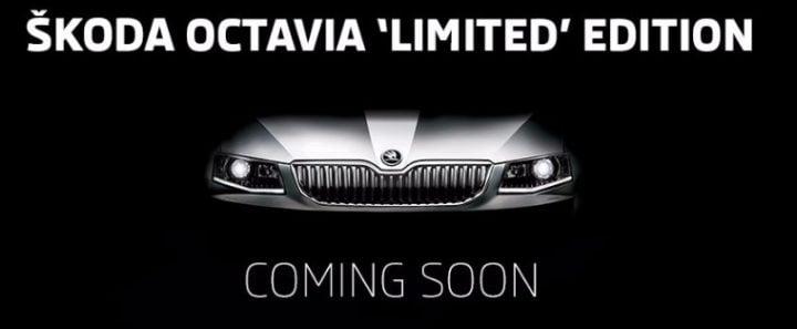 skoda octavia black edition teaser