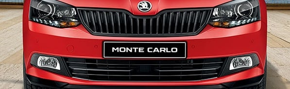 Skoda Rapid Monte Carlo Special Edition India Launch in 2017, Price 9.5 L skoda-rapid-monte-carlo-special-edition-front-grille-1