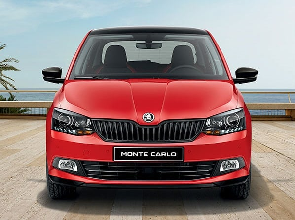 upcoming skoda cars in india skoda rapid monte carlo edition