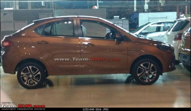 Tata Kite 5 Compact Sedan to be Called Tigor! [Launch Soon]
