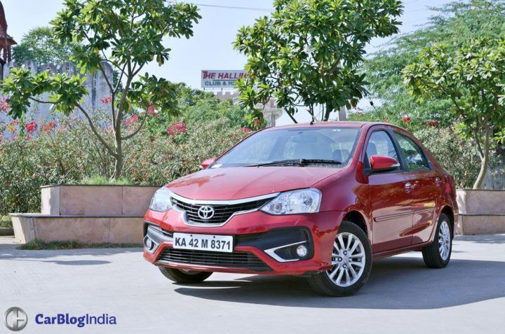 toyota platinum etios test drive review images
