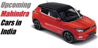 upcoming mahindra cars in india