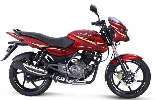 2017 Bajaj Pulsar 150 Dyno red side profile images