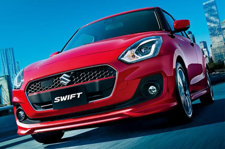 2018 Maruti swift rs india