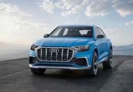 2017 audi q8 concept official image front angle