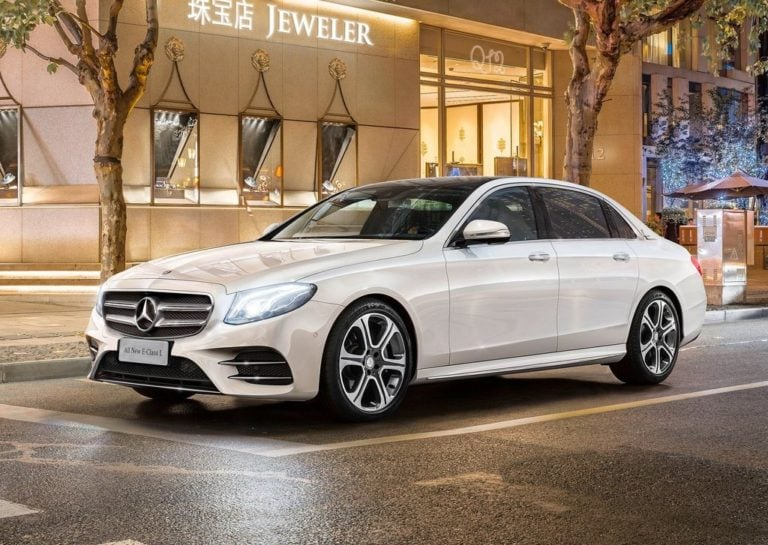 New Mercedes E-Class LWB Launched at Rs. 56.15 lakh