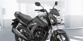 Honda Unicorn 160 BSIV Black-Front-Angle-Images