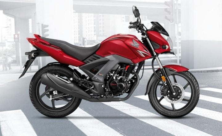 2017 Honda Unicorn 160 BSIV Red-Side-Images
