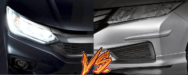 New 2017 Honda City vs old model city comparison