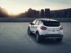 Renault Captur India Rear Angle