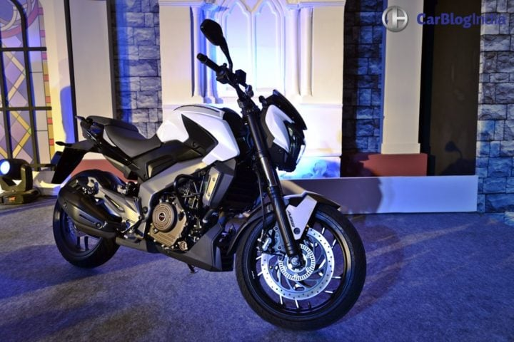 bikes at auto expo 2018 - bajaj dominar 200
