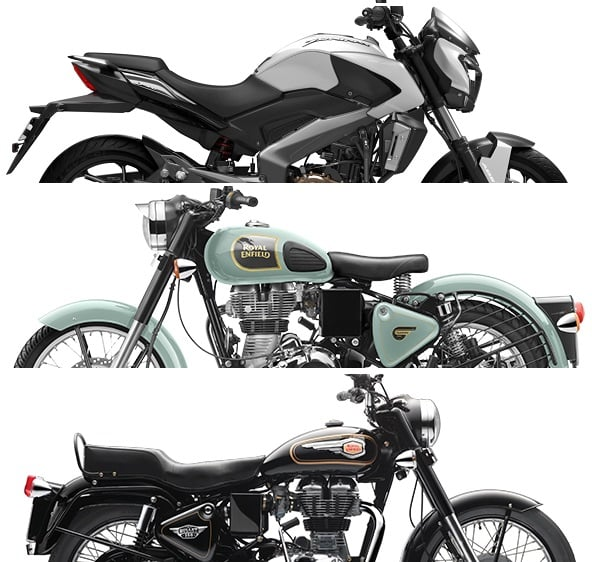 bajaj dominar 400 vs royal enfield 350 classic bullet