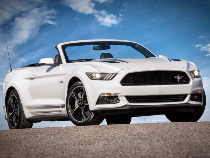 upcoming ford cars in india 2017-2018 - ford mustang convertible india