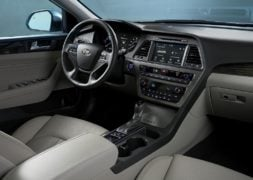 hyundai sonata hybrid india official image interiors