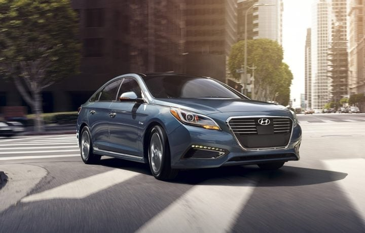 upcoming new cars in india 2017 hyundai sonata hybrid india official image front