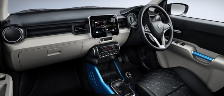 maruti-IGNIS-official-image-Dashboard-SHOT