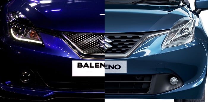 Maruti Baleno RS vs Baleno Comparison maruti-baleno-rs-vs-baleno
