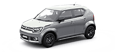 maruti ignis official colour options silky silver