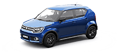 maruti ignis official colour options urban Blue