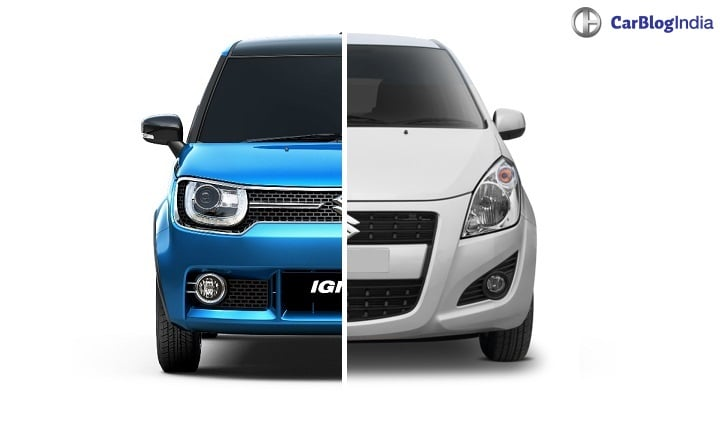Maruti Ignis Vs Ritz Comparison Price Specs Features Design