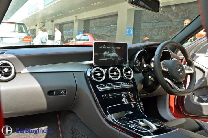 mercedes amg c43 india review track drive interiors