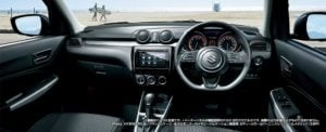 new 2017 maruti suzuki swift official images interiors dashboard