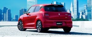 2017 Maruti Suzuki Swift Official Images Rear Angle