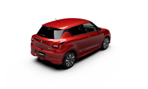 new 2017 maruti swift official images rear top