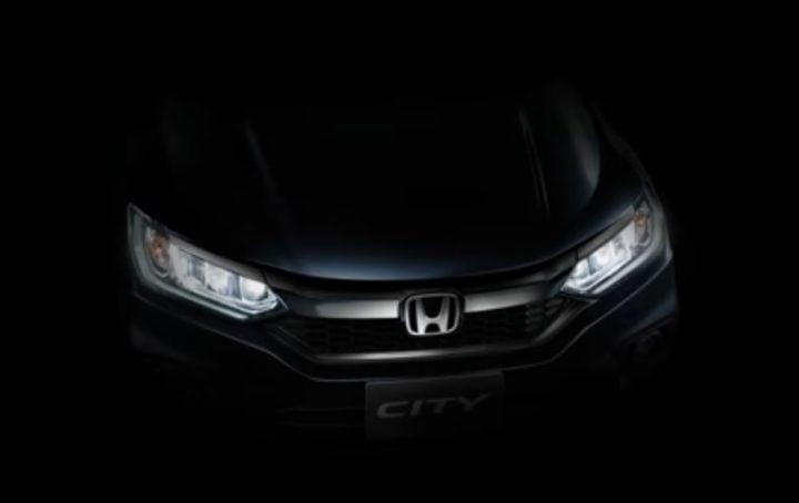New 2017 Honda City Facelift teaser image