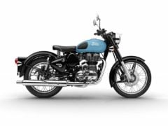 royal enfield classic 350 redditch series blue colour images