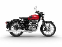 royal enfield classic 350 redditch series red colour images