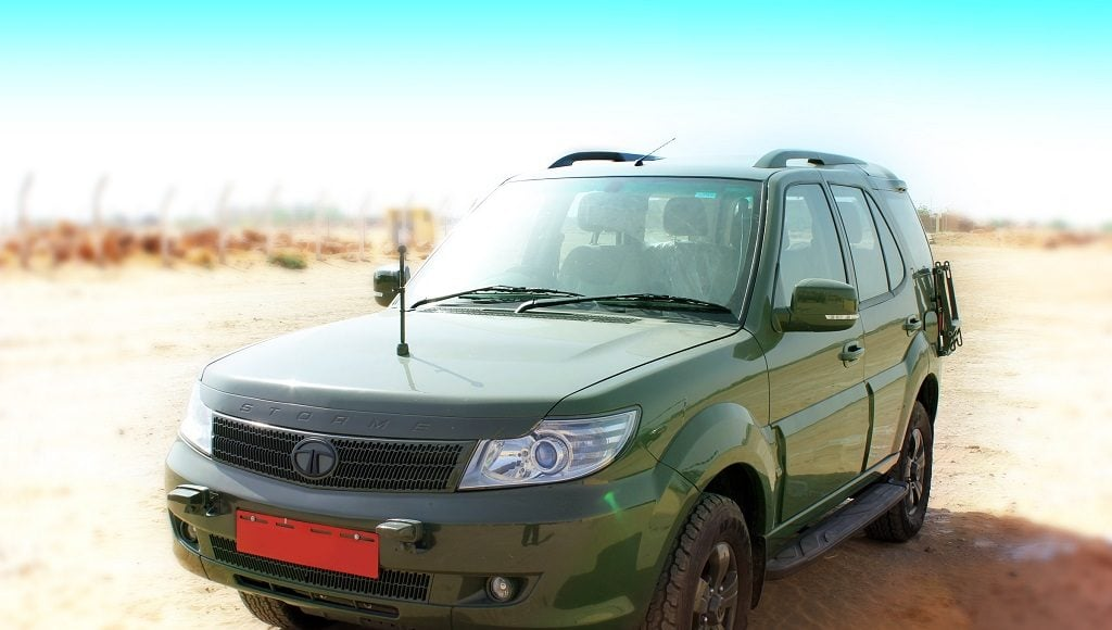 tata safari storme indian army GS800