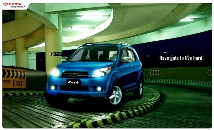 Upcoming Cars under 10 Lakhs - Toyota Rush