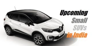 upcoming Small SUVs in India
