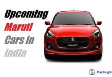 Upcoming New Maruti cars in India