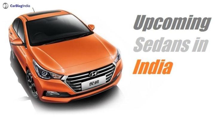 upcoming sedan cars in India