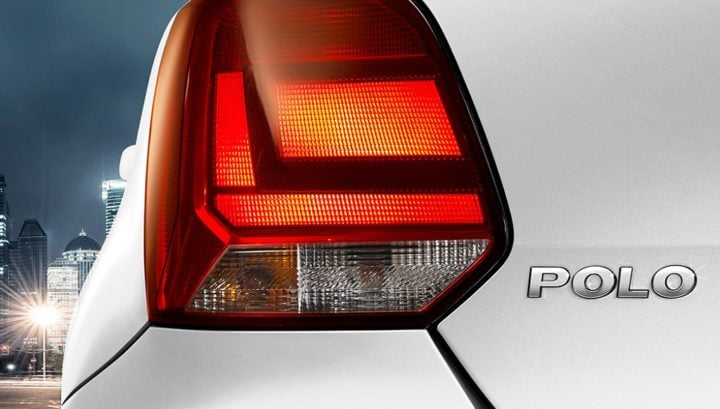 new 2018 volkswagen polo india images - taillight