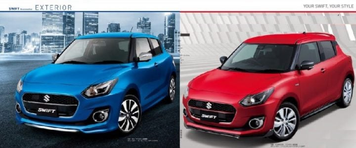 New 2017 Maruti Suzuki Swift accessories pack images