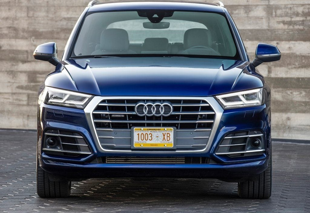 2017 Audi Q5 India Official Images Front Carblogindia