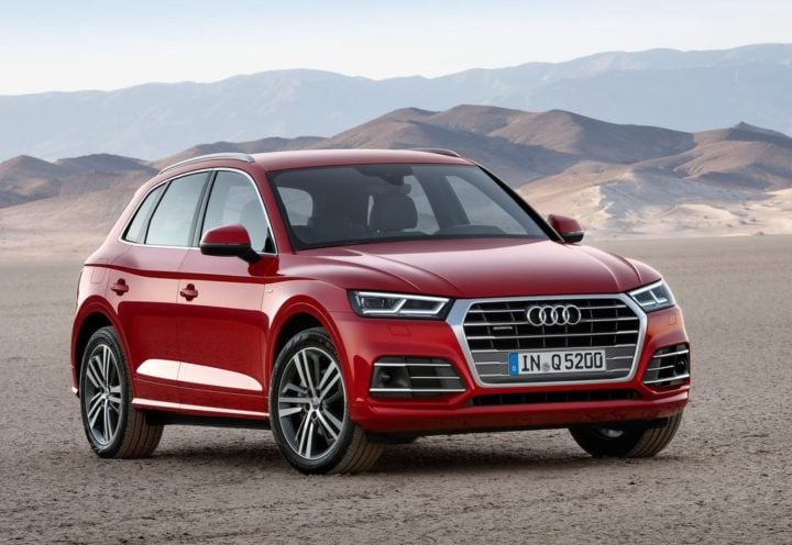 upcoming suvs in india 2017 - 2017 audi q5 india official images front angle