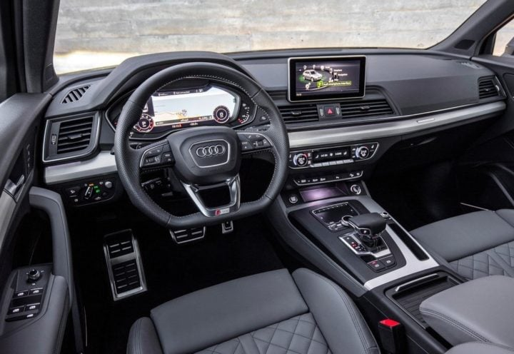 2017 audi q5 india official images dashboard interiors
