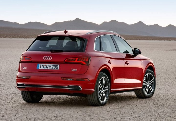 2017 audi q5 india official images rear angle